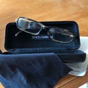 MADE IN ITALY eyeglass frames. Dolce&Gabbana